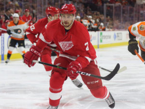 Brendan Smith of the Detroit Red Wings.