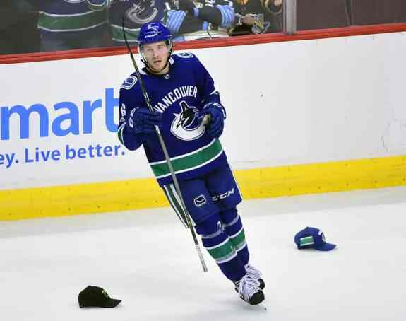 Brock Boeser Canucks