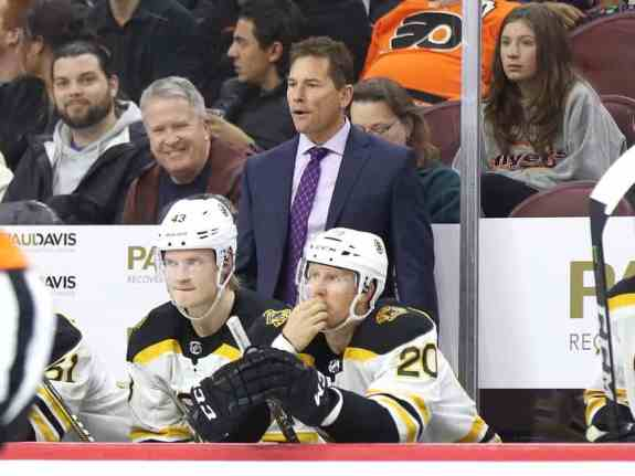 Bruce Cassidy Riley Nash Danton Heinen Bruins