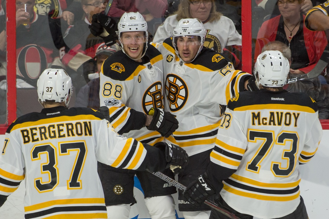 Bruins GM Don Sweeney Quickly Shoots Down David Pastrnak Trade Rumors