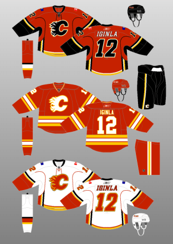 Calgary Flames Jersey