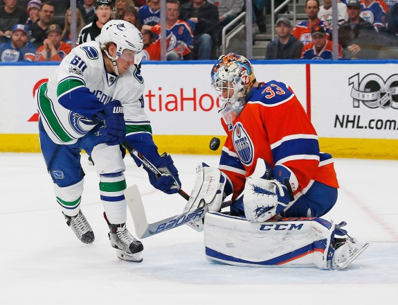 Cam Talbot, Markus Granlund, NHL, Edmonton Oilers