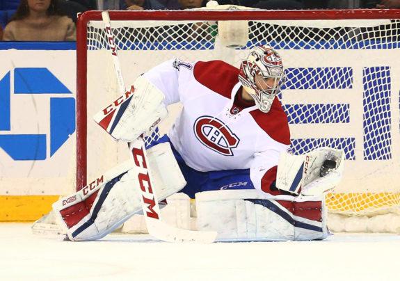Montreal Canadiens goalie Carey Price