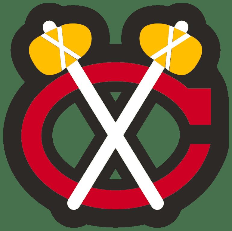 chicago blackhawks logo history rh thehockeywriters com