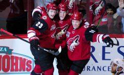 Recap: Coyotes Edge Sharks 3-2 In Chippy Shootout Win