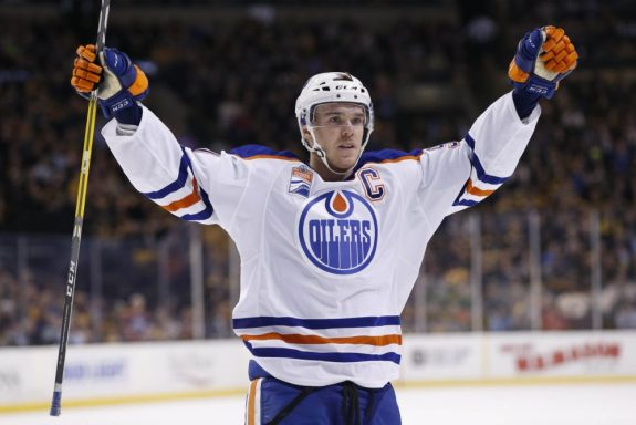 Connor McDavid, Upper Deck, CIBC, Edmonton Oilers
