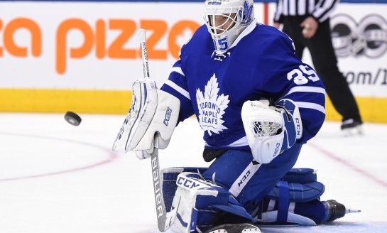 McElhinney Earning Keep With Leafs