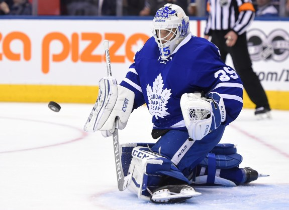 Curtis McElhinney, Toronto Maple Leafs, NHL