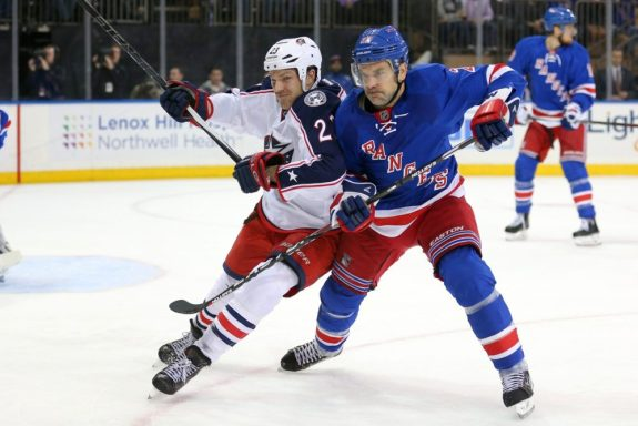 Ex-Columbus Blue Jackets forward David Clarkson and ex-New York Rangers defenseman Dan Boyle