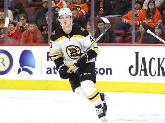 Danton Heinen Bruins