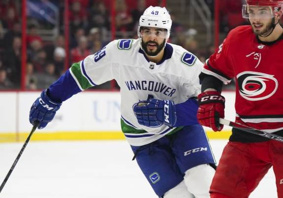 Darren Archibald Vancouver Canucks
