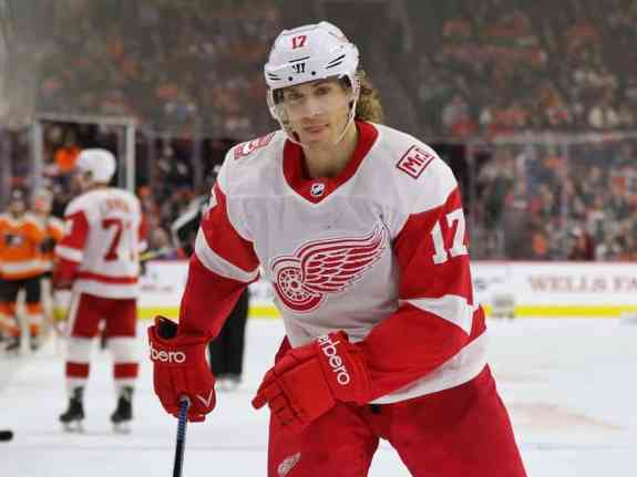 David Booth of the Detroit Red Wings