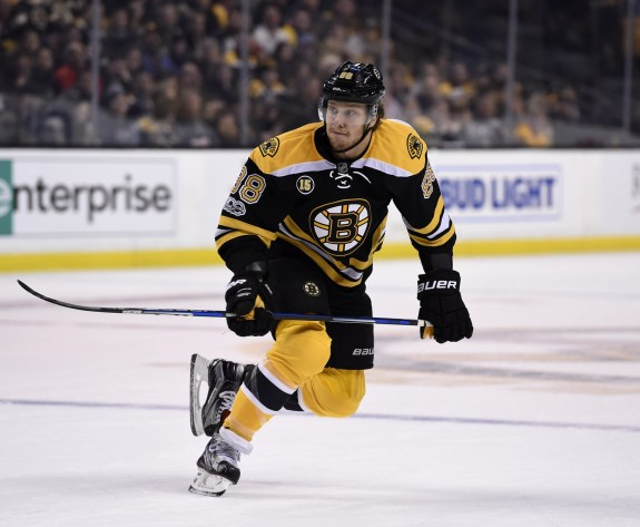 David Pastrnak, Boston Bruins