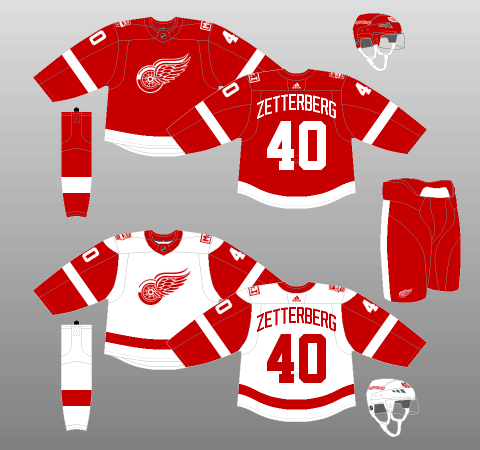 official photos d9f6b 77816 How to Fix the Detroit Red Wings' Jerseys – Sports News Bay