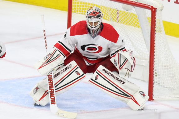 Eddie Lack, Carolina Hurricanes, NHL