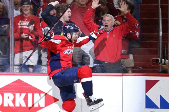 Washington Capitals center Evgeny Kuznetsov