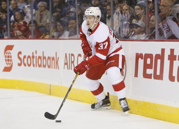 Evgeny Svechnikov of the Detroit Red Wings.