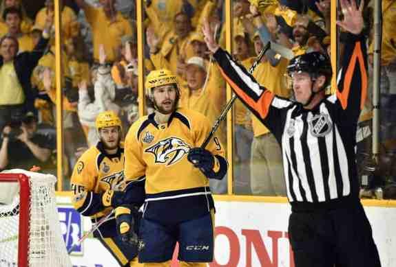 Predators Officials NHL Penalties