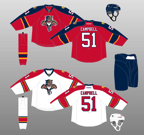 quality design 6113b 3ca67 Florida Panthers Jersey History