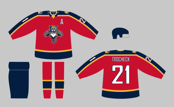 the best attitude 28b2c 3fca8 How to Fix the Florida Panthers' Jerseys – Sports News Bay