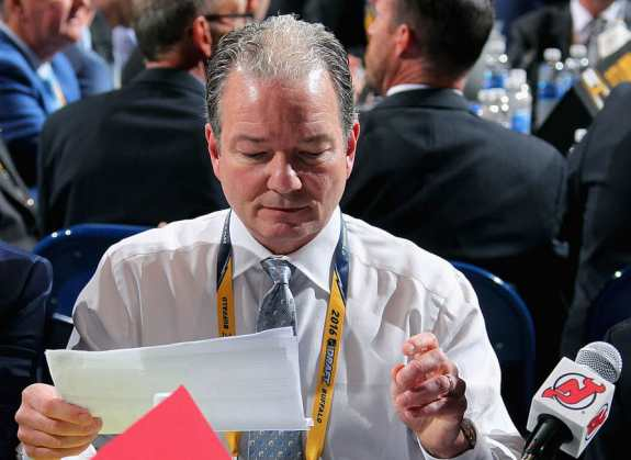 General manager Ray Shero, New Jersey Devils