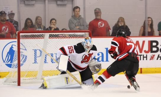Behind the Mask With Devils Prospect Gilles Senn