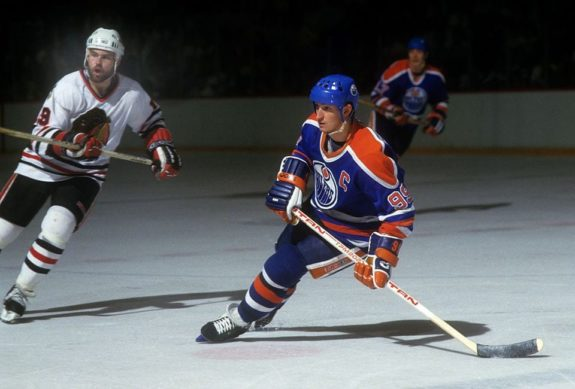 Wayne Gretzky, Edmonton Oilers, NHL