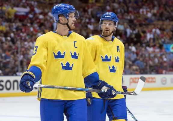 Henrik Sedin, Daniel Sedin, Team Sweden, World Cup of Hockey, Hockey