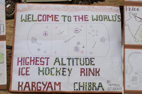 Highest Altitude Hockey Game