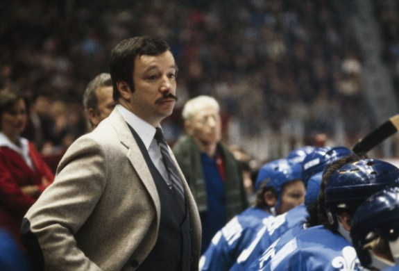 Quebec Nordiques Head Coach Jacques Demers