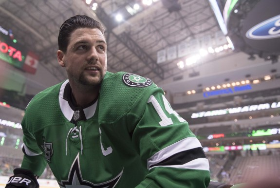 Dallas Stars left wing Jamie Benn