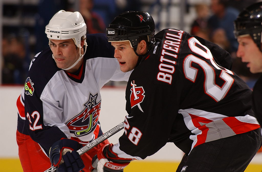 2004 Season Player Jason Botterill of the Buffalo Sabres