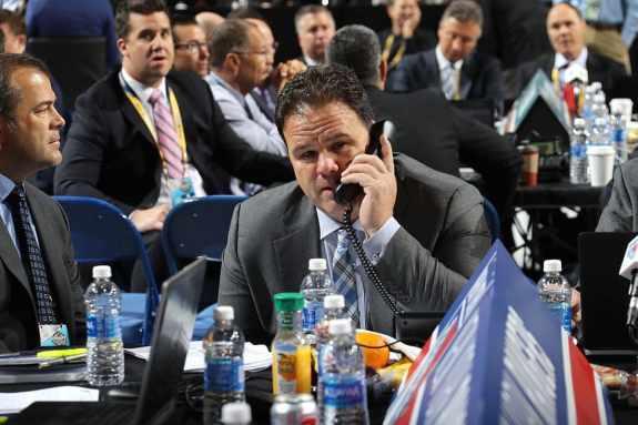 Jeff Gorton, New York Rangers GM