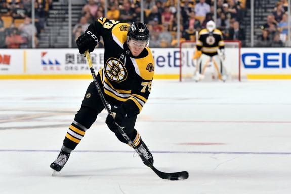 Jeremy Lauzon Boston Bruins