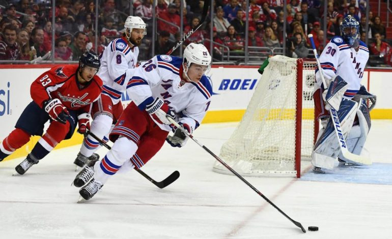 Recap: Jimmy Vesey Shines as Rangers Outlast Blue Jackets