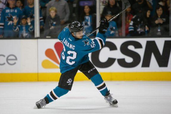 Kevin LaBanc, San Jose Sharks
