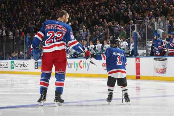 Kevin Shattenkirk #22 of the New York Rangers