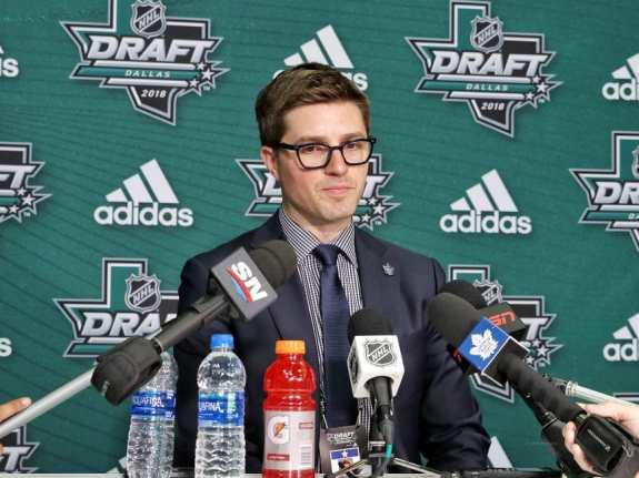 Kyle Dubas Maple Leafs