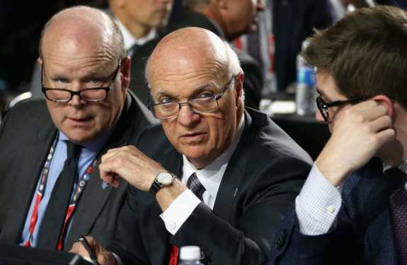 General manager Lou Lamoriello