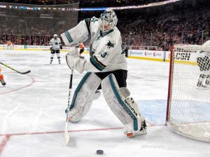 Martin Jones (Amy Irvin / The Hockey Writers)