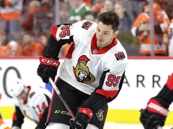 Matt Duchene of the Ottawa Senators