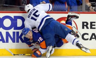 Tape2Tape: Non-Contact Hockey, A Dangerous Game?