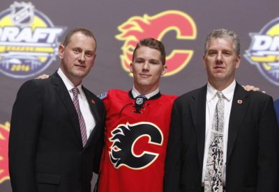 (Timothy T. Ludwig-USA TODAY Sports) The Calgary Flames drafted extremely well over both days, starting with Matthew Tkachuk (above) at sixth overall. As a result, the Battle of Alberta is trending toward becoming a relevant rivalry again.