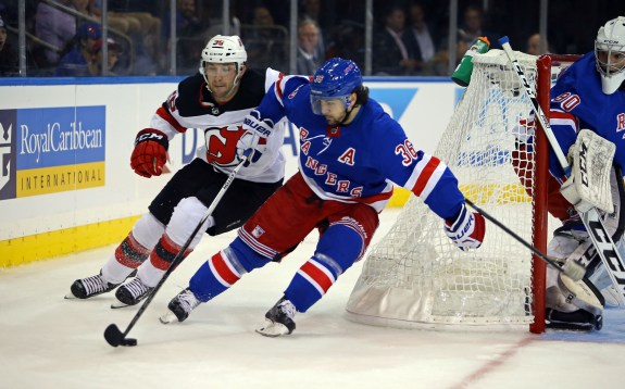 New York Rangers right wing Mats Zuccarello