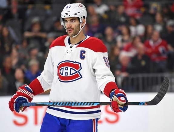 Canadiens left wing Max Pacioretty