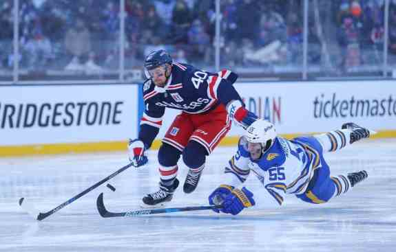 New York Rangers right wing Michael Grabner