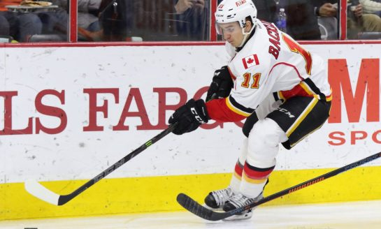 Flames Center Depth a Product of Drafting & Patience