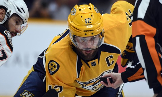 Preds' Mike Fisher Retires From NHL