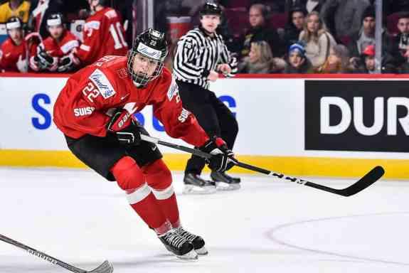 Nando Eggenberger Swiss Hockey