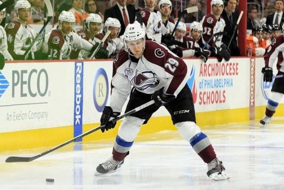 Mikkel Boedker, Nathan MacKinnon, NHL, Fantasy Hockey